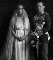 King George II & Queen Elizabeth